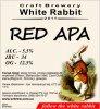 "Кривий Ріг ""White Rabbit""craft brewery Red APA UA-04-KRR-11-APA-P-xx-16-002"