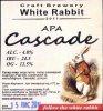 "Кривий Ріг ""White Rabbit""craft brewery APA Cascade UA-04-KRR-11-APA-P-xx-02-002"
