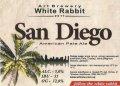 "Кривий Ріг ""White Rabbit""craft brewery San Diego (American Pale Ale) UA-04-KRR-11-APA-P-xx-21-004"