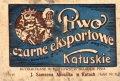 Калуш Browar Parowy Mühlstein, Spindel i Weissmann Czarne eksportowe PL-09-KLS-03-EKZ-K-xx-04-002