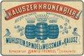 Калуш Browar Parowy Mühlstein, Spindel i Weissmann Kronenbier PL-09-KLS-03-KNI-K-xx-02-002