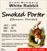 "Кривий Ріг ""White Rabbit""craft brewery Smoked Porter (Brown Porter) UA-04-KRR-11-POR-P-xx-04-002"