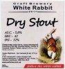 "Кривий Ріг ""White Rabbit""craft brewery Dry Stout UA-04-KRR-11-SOD-P-xx-02-004"