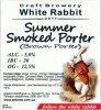 "Кривий Ріг ""White Rabbit""craft brewery Summer Smoked Porter (Brown Porter) UA-04-KRR-11-POR-P-xx-05-002"