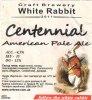 "Кривий Ріг ""White Rabbit""craft brewery Centennial American Pale Ale UA-04-KRR-11-APA-P-xx-13-002"