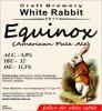 "Кривий Ріг ""White Rabbit""craft brewery Equinox American Pale Ale UA-04-KRR-11-APA-P-xx-15-002"