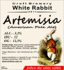"Кривий Ріг ""White Rabbit""craft brewery Artemisia (American Pale Ale) UA-04-KRR-11-APA-P-xx-18-002"