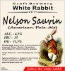 "Кривий Ріг ""White Rabbit""craft brewery Nelson Sauvin (American Pale Ale) UA-04-KRR-11-APA-P-xx-20-002"