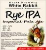 "Кривий Ріг ""White Rabbit""craft brewery Rye IPA (Imperial Pale Ale) UA-04-KRR-11-IPE-P-xx-02-002"