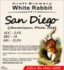 "Кривий Ріг ""White Rabbit""craft brewery San Diego (American Pale Ale) UA-04-KRR-11-APA-P-xx-21-002"