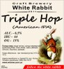 "Кривий Ріг ""White Rabbit""craft brewery Triple Hop (American IPA) UA-04-KRR-11-THO-P-xx-04-002"