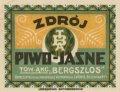 """Рівне Tow. Akc. Browarów """"Bergszlos"""" Zdroj PL-18-RVN-05-ZDO-K-xx-02-002"""